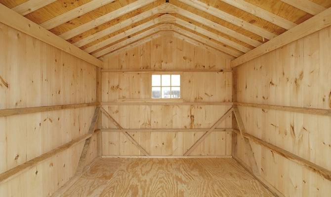 Shed Plans Outdoor Storage Building Wood