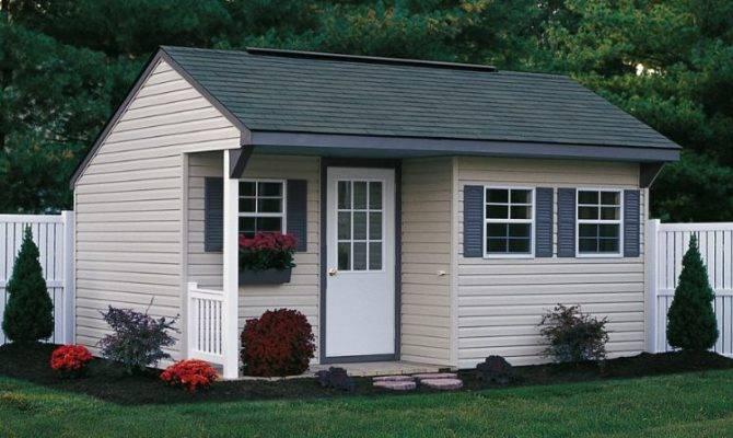 Shed Plans Porch Build Garden Storage Cool
