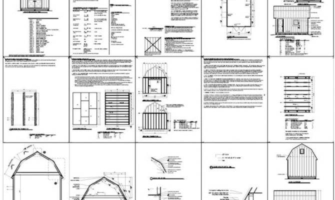 Shed Plans Storage