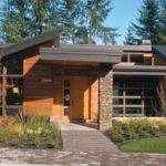 Shed Roof Contemporary House Plans Pdf Construction Kits