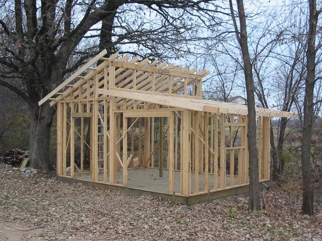 Shed Roof Design Plans Storage Diy Garden House Plans 27325