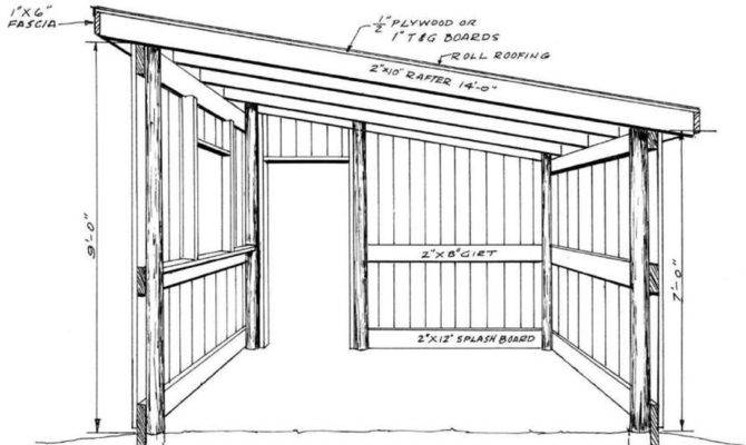 Shed Roof Pole Barn Plans House Living House Plans 12318
