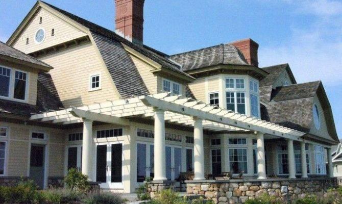 Shingle Style Classic Coastal Home Pinterest