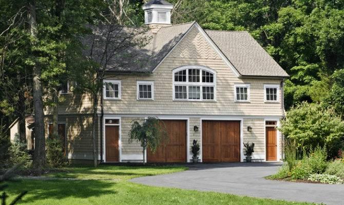 Shingle Style Garage Guest House Craftsman