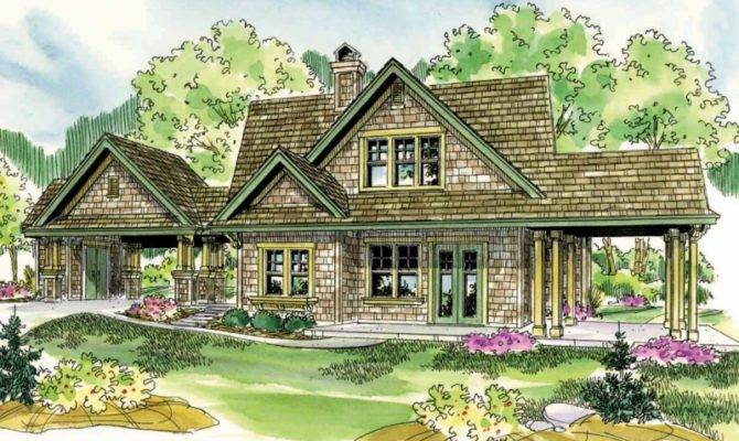 Shingle Style House Plans Longview Associated Designs