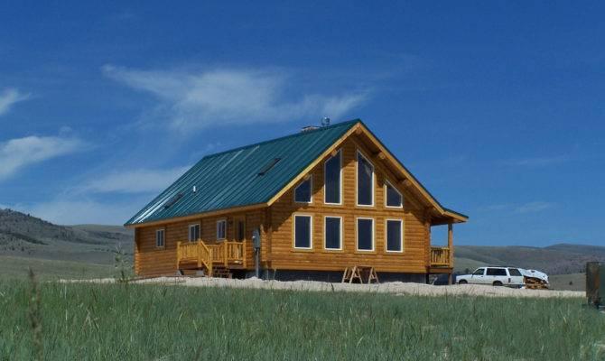 Shining Mountains Plan Cowboy Log Homes