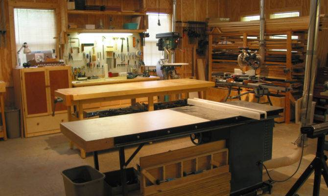 Shop Ideas Wood Floor Plans Woodworking Trendvee
