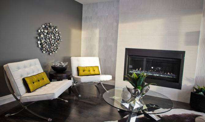 Show Homes Modern Living Room Other Metro