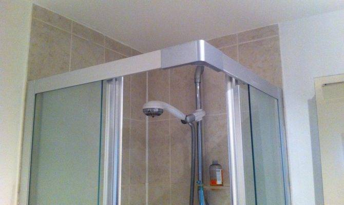 Shower Enclosure Fitting Tiling Sealing Painting Bathroom