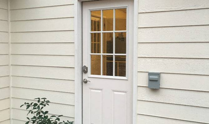 Side Doors Matching Composite Panels