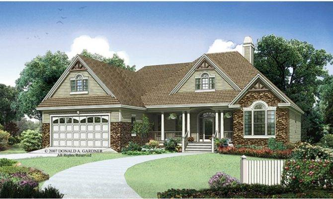 Side Load Garage One Story Ranch House Plans Caroldoey
