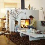 Sided Fireplace Pinterest Fireplaces Design Gas