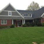 Siding Red Brick Home Pinterest
