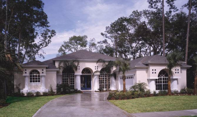 Siesta Hill Florida Style Home Plan House