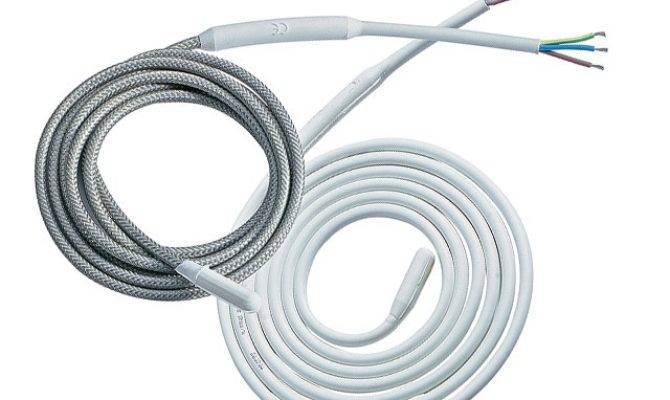 Silicon Elastomer Insulated Drain Line Heater Cable