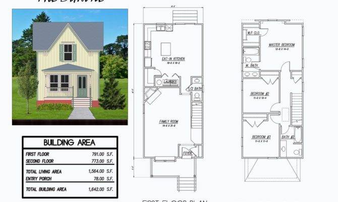 Simone Bedroom House Plan Intended Narrow