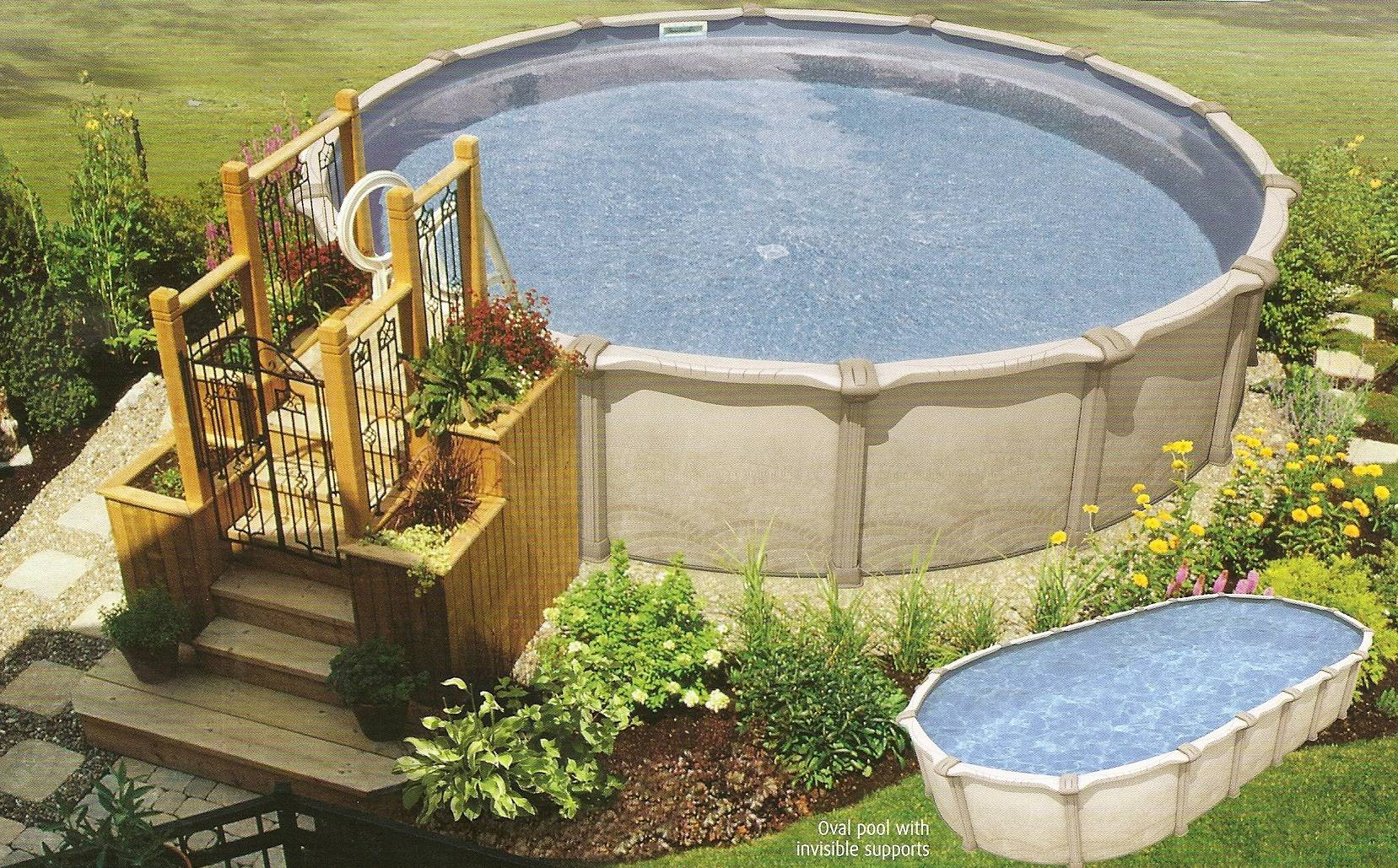 20 Above Ground Pool Deck Plans Free That Look So Elegant House Plans
