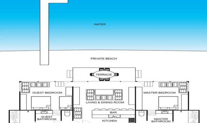 Simple Beach House Floor Plans