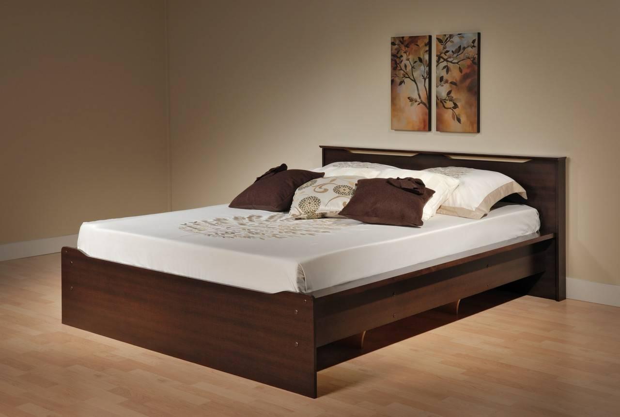 Simple Bed Design Storage - House Plans | #73880