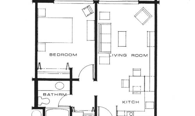 Simple Bedroom Apartment Floor Plans Placement New