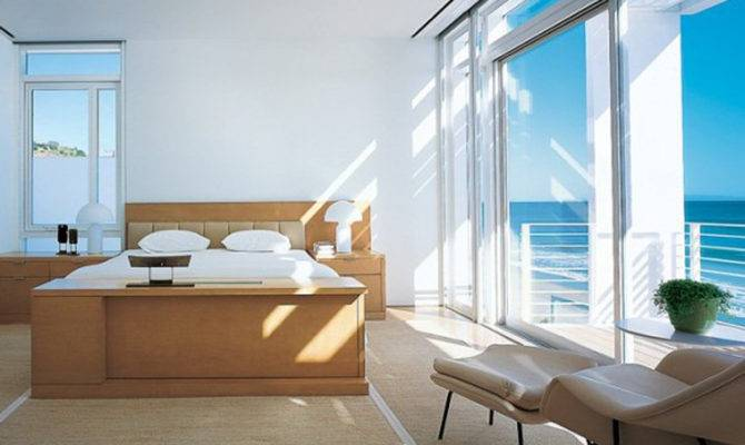 Simple Bedroom Decorating Ideas One Total White Modern