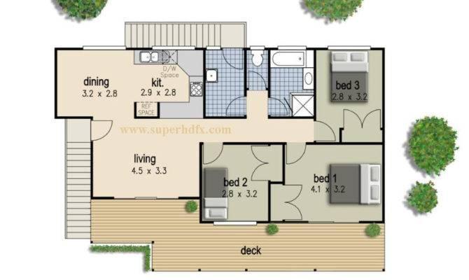 Simple Bedroom House Plan Superhdfx