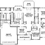 Simple Bedroom Ranch House Plans Plan Hampshire