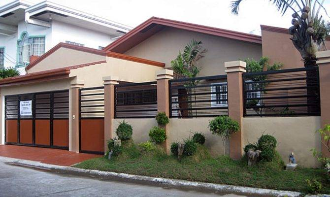 Simple Bungalow House Design Philippines Philippine