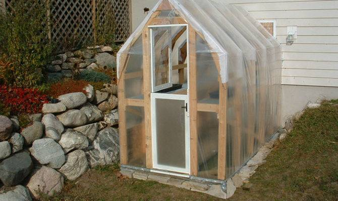 Simple But Durable Greenhouse Thinmac Acts Extension