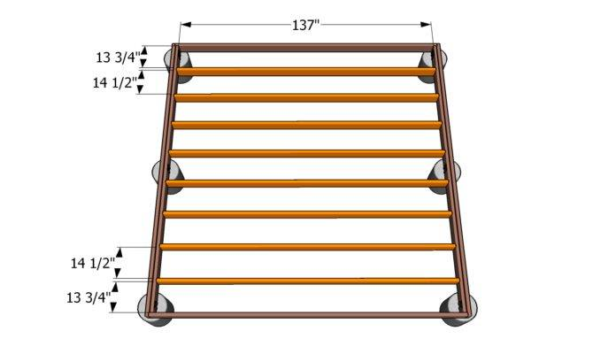 Simple Deck Bench Woodworking Plans