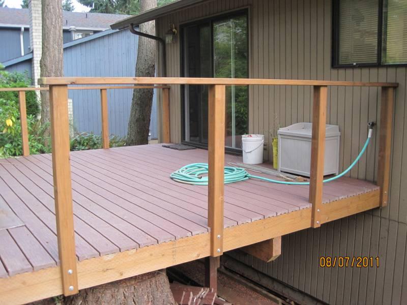 Simple Deck Railing Plans Wooden Pdf Junior Cert Woodwork ...