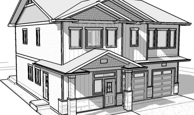Simple Drawing House