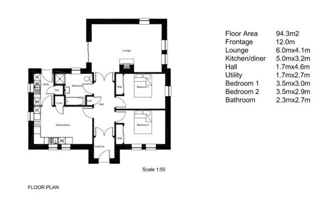 Simple Efficient House Plans