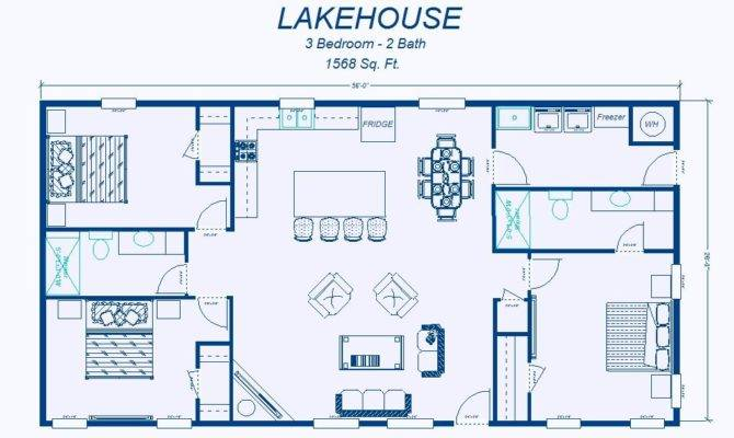 Simple Elegant Floor Plan Hwbdo Cottage House Plans