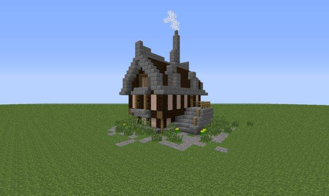 Simple Elegant Minecraft House Tutorial