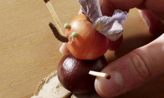 Simple Fall Crafts Home Decorating Ideas Chestnut