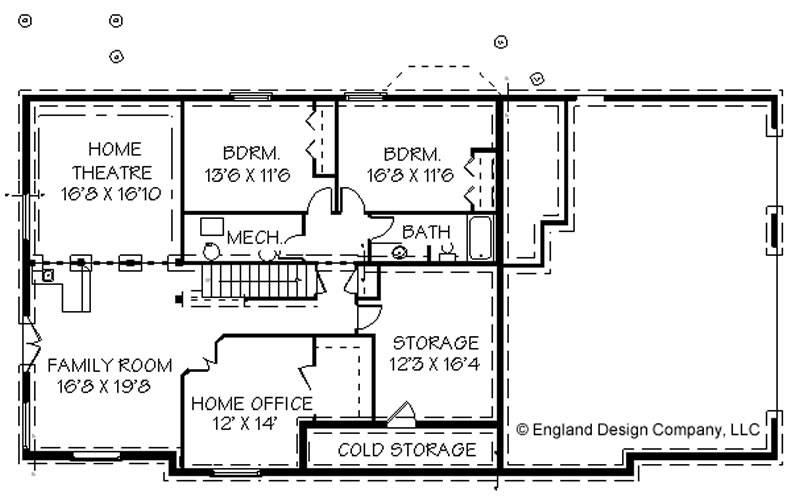 Simple Floor Plans Basement Plan House Plans 21761