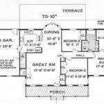 Simple Floor Plans Homes One Story House