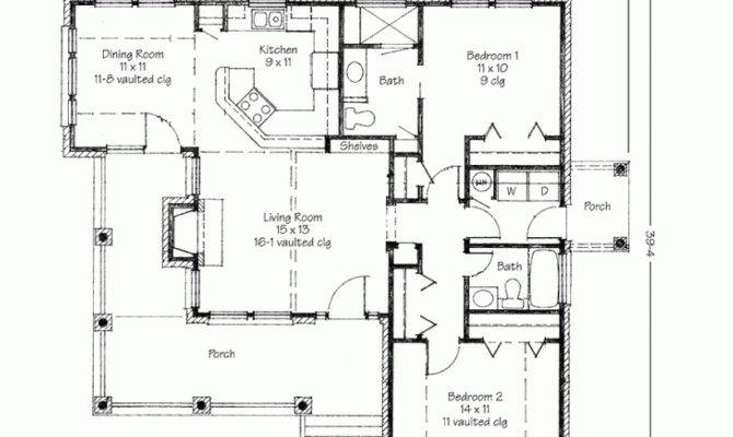 Simple Floor Plans Houses Two Bedrooms House