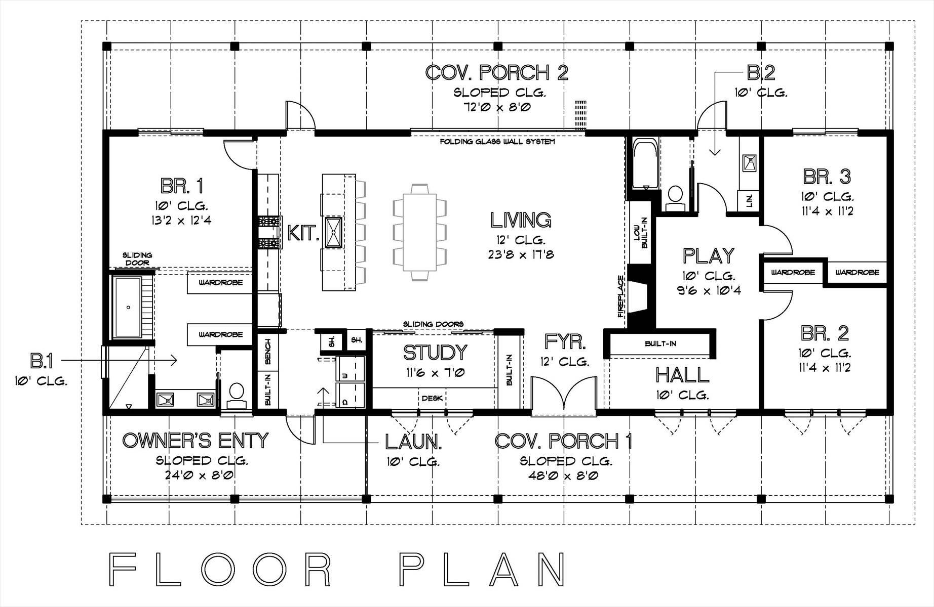 Simple Floor Plans Measurements House Plan House Plans 21985