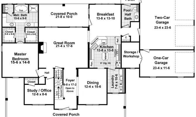 Simple Floor Plans Wrap Around Porch