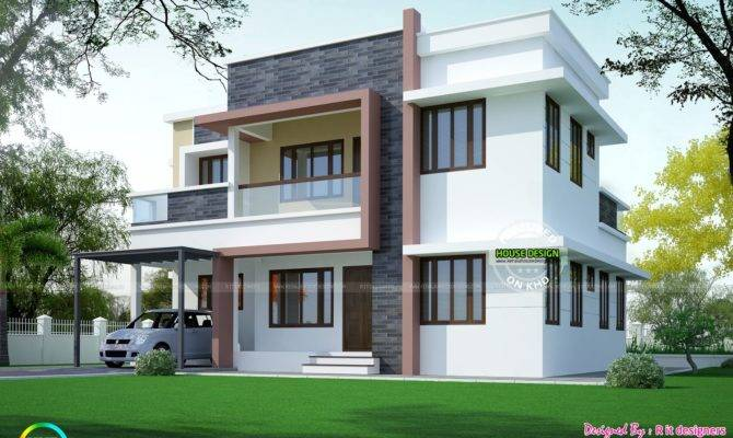 Simple Home Plan Modern Style Kerala Design