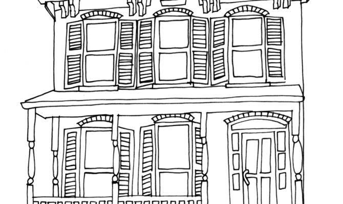 Simple House Drawing Getdrawings