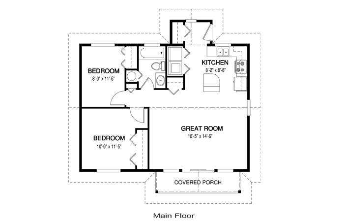 Simple House Floor Plan Measurements Chase - House Plans   #56975