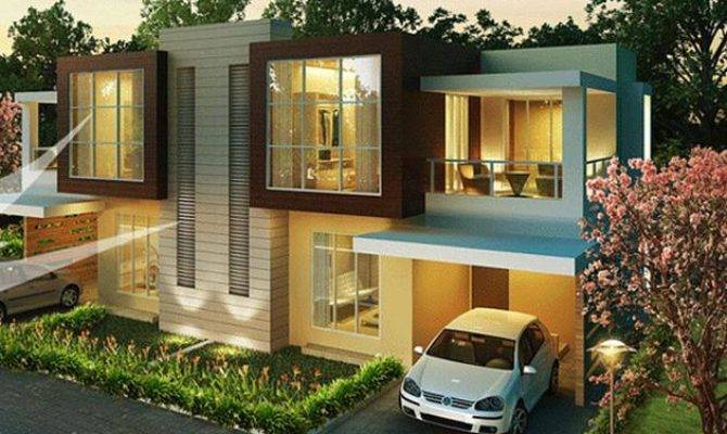 Simple Minimalist House Design Modern Small