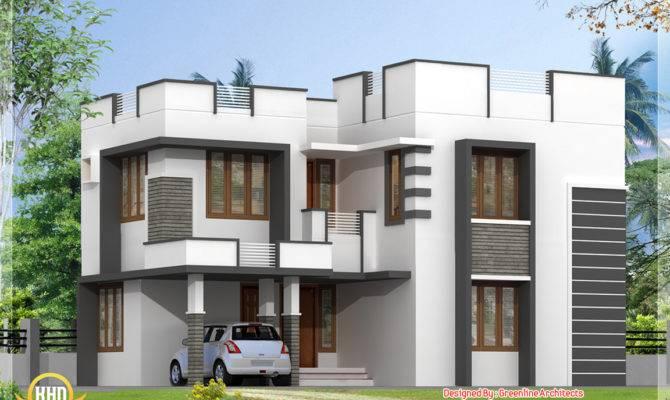 Simple Modern Home Design Bedroom Kerala House Idea