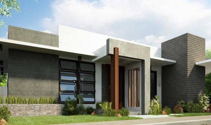 Simple Modern House Architecture Minimalist Design