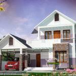 Simple Modern House Kerala Home Design