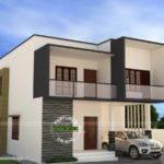 Simple Modern House Vishnu Kerala Home Design