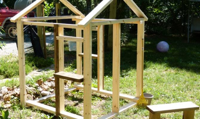 Simple Modern Playhouse Plans Diy Wooden